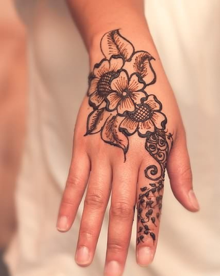 43 Henna Wrist Tattoos Design Ideas And Designs