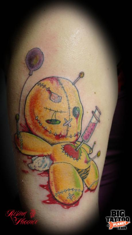 Aj Curzon Berners Colour Tattoo Big Tattoo Planet Ideas And Designs