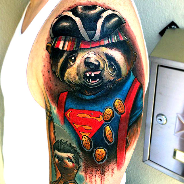 Awesome Tattoos Of Famous '80S Movie Characters Depicted Ideas And Designs