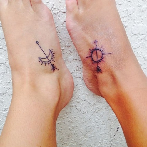 200 Matching Best Friend Tattoos Bff 2017 Collection Ideas And Designs