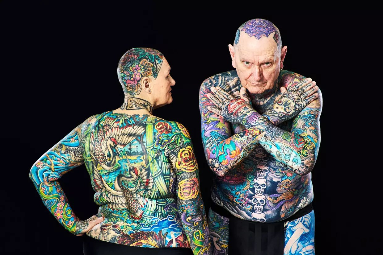 Les Seniors Les Plus Tatoués Ideas And Designs
