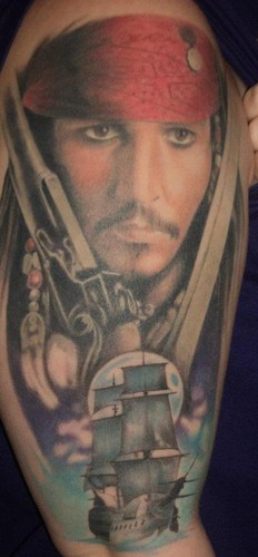 Johnny Depp Images My Jack Sparrow Tattoo Wallpaper And Ideas And Designs