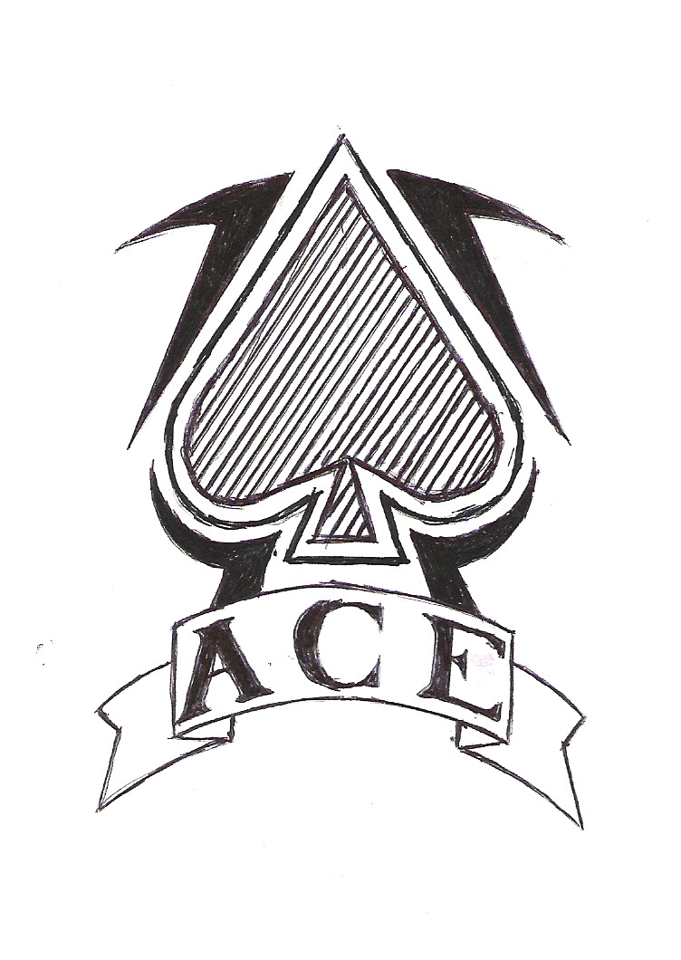 Ace Of Spades Tattoo Design By Fulhamghost On Deviantart Ideas And Designs