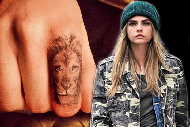 The Little Inks Cara Delevingne Joins The Tiny Tattoo Ideas And Designs