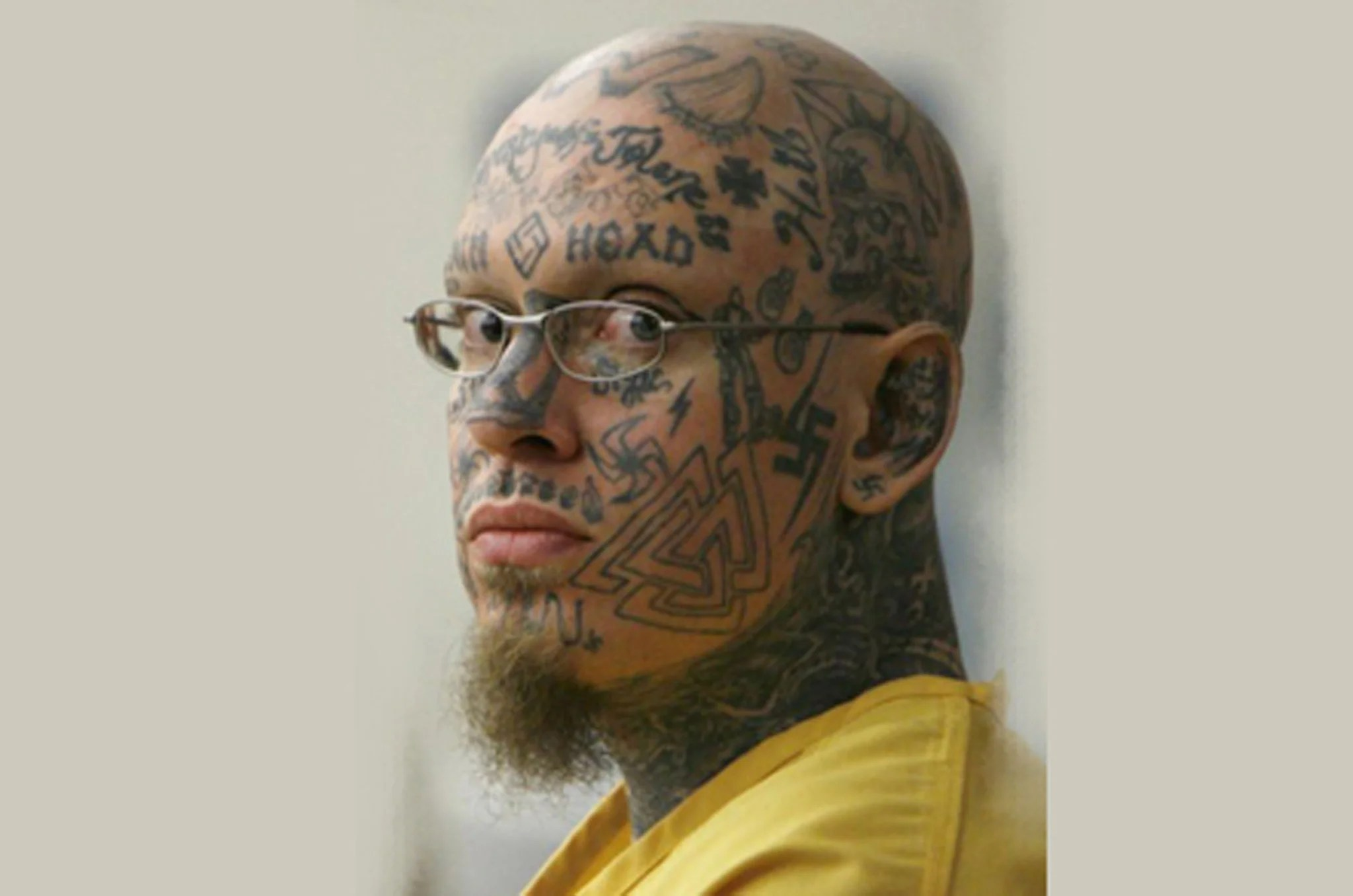 Face Tattooed Neo N*Z* Is Sentenced To Life For The Ideas And Designs