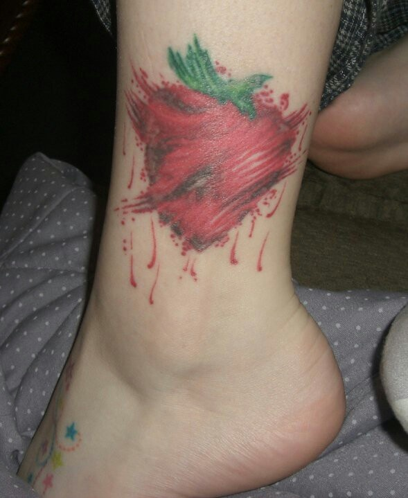 Across The Universe Strawberry Tattoo Photography Ideas And Designs