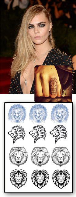 Cara Delevingne Tattoo Lion Favorites Pinterest Ideas And Designs