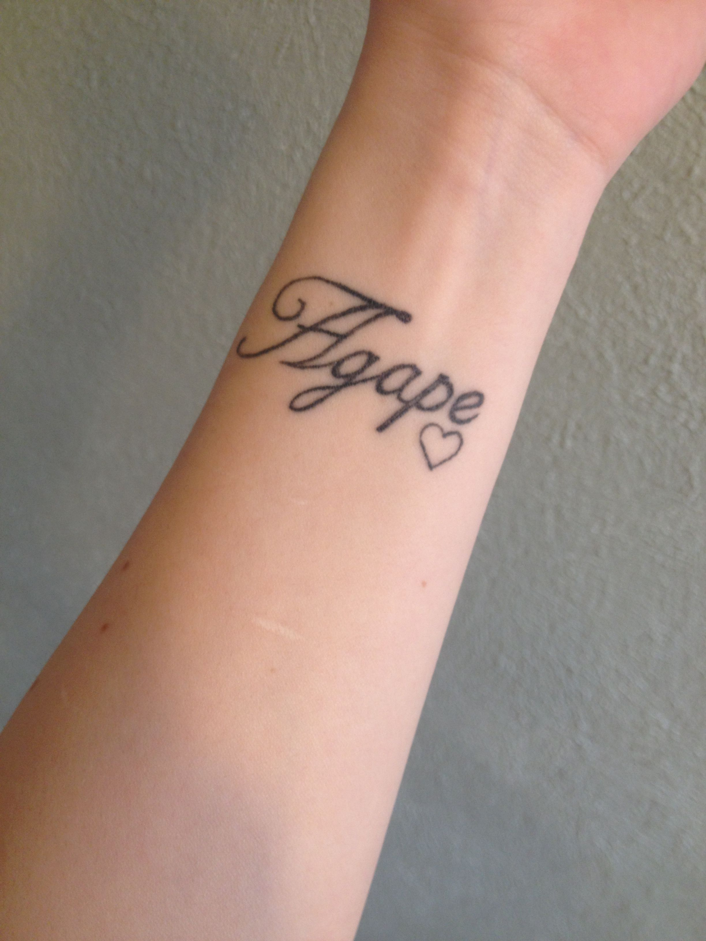 28 Unconditional Love Tattoo Designs Agape Ideas And Designs