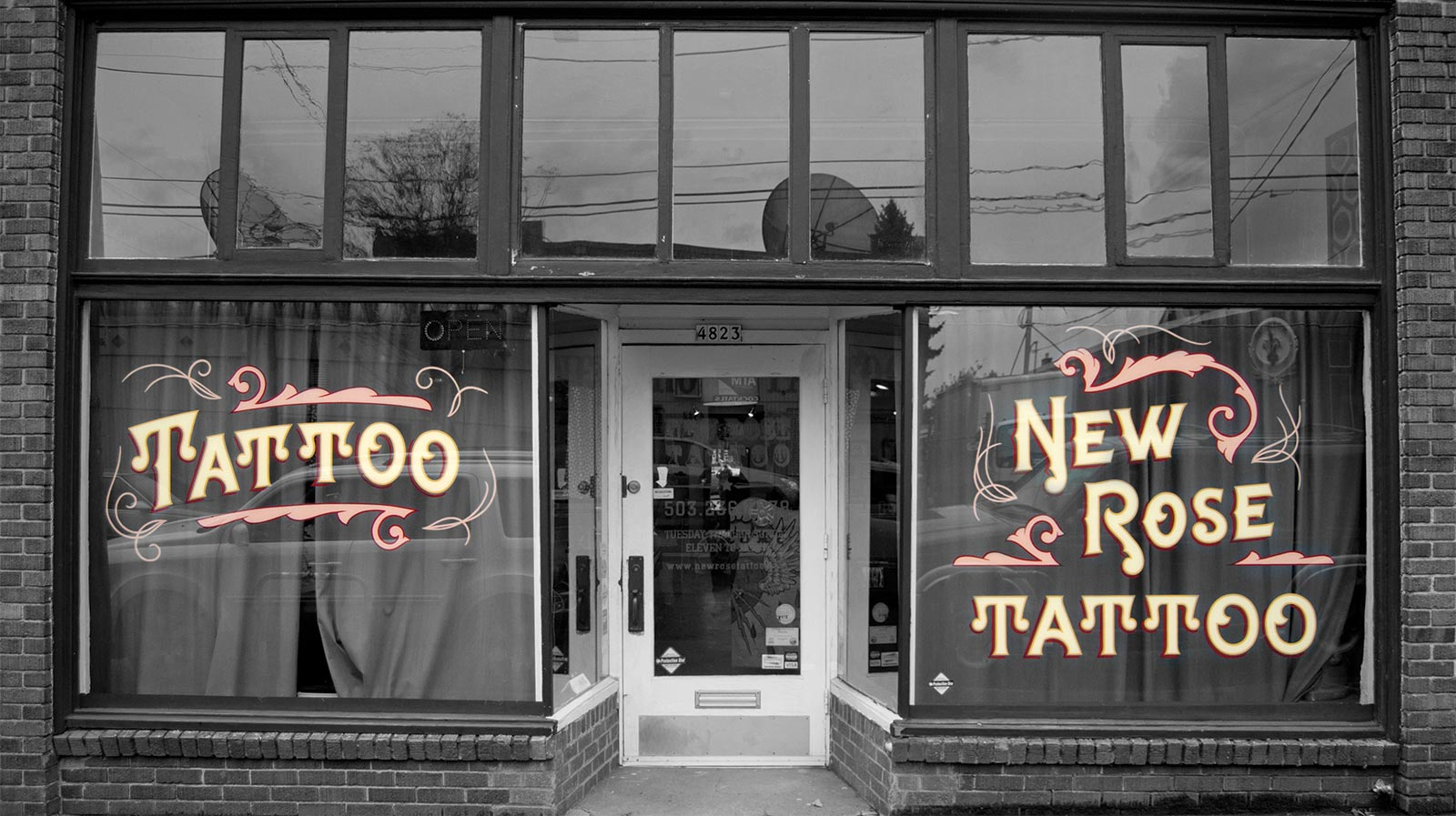 Portland Tattoo Parlor New Rose Tattoo Ideas And Designs