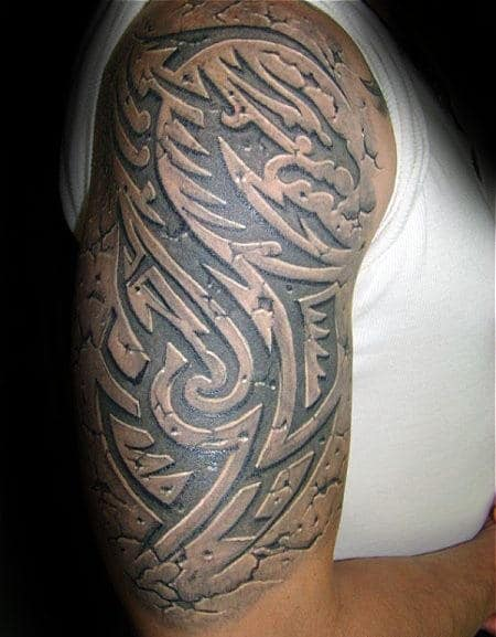 60 3D Tribal Tattoos For Men Masculine Design Ideas Ideas And Designs