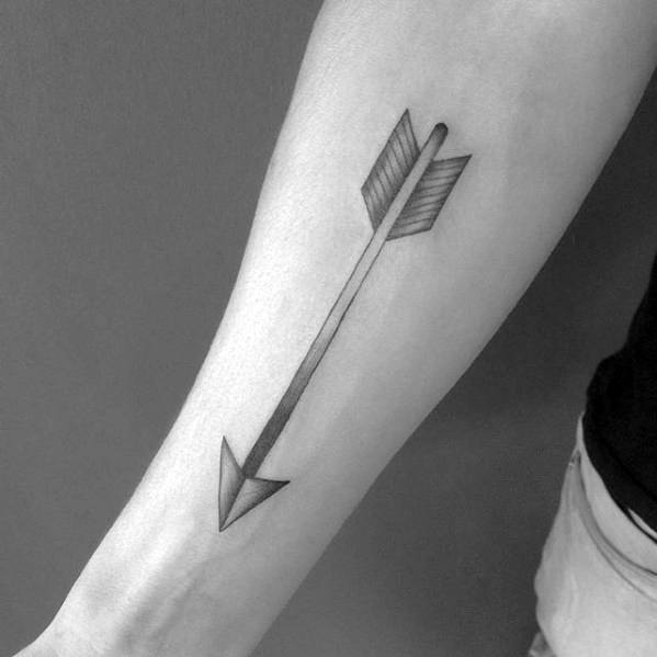 40 Simple Arrow Tattoo Designs For Men Sharp Ink Ideas Ideas And Designs