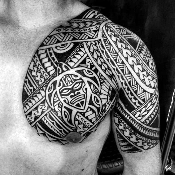 75 Half Sleeve Tribal Tattoos For Men Masculine Design Ideas Ideas And Designs