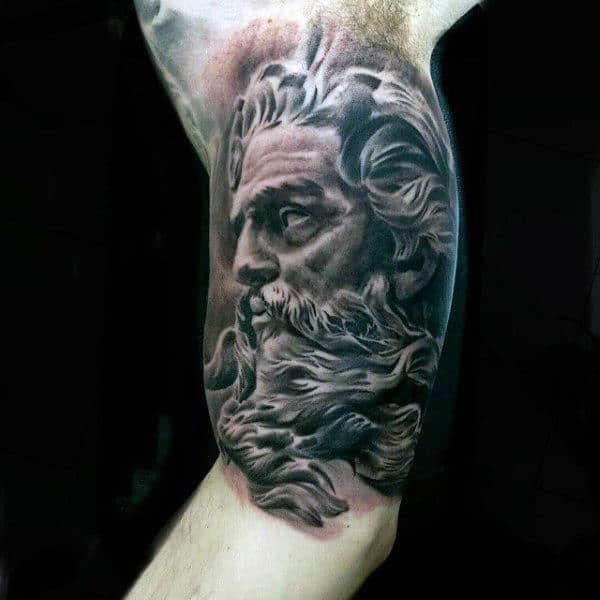 60 Greek Tattoos For Men Mythology And Ancient Gods Ideas And Designs