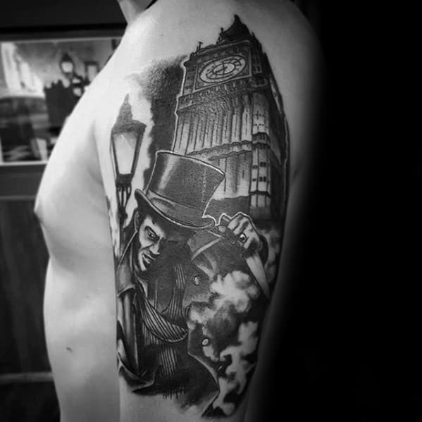 50 Big Ben Tattoo Designs For Men Clock Ink Ideas Ideas And Designs