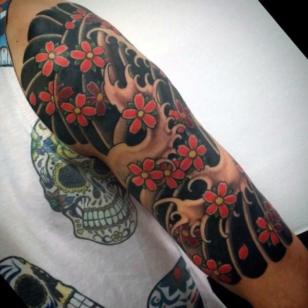 100 Cherry Blossom Tattoo Designs For Men Floral Ink Ideas Ideas And Designs