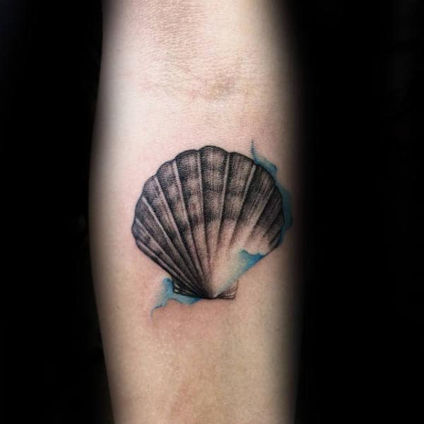 80 Seashell Tattoo Designs For Men Oceanic Ink Ideas Ideas And Designs