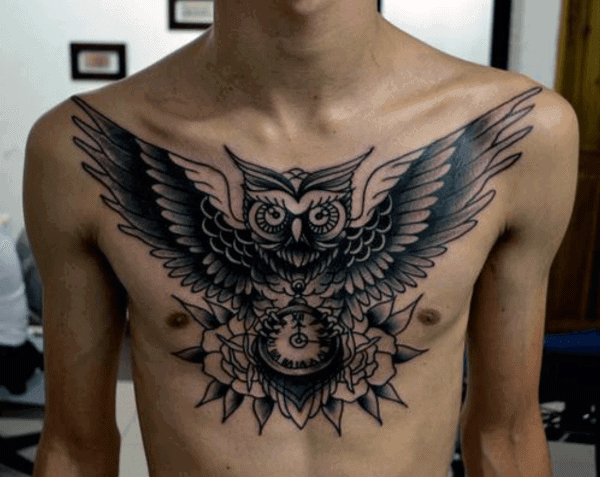 70 Owl Tattoos For Men Creature Of The Night Designs Ideas And Designs