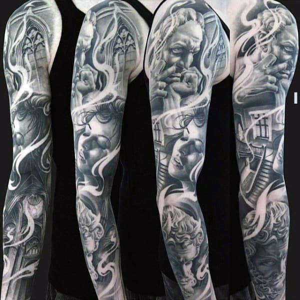 70 Unique Sleeve Tattoos For Men Aesthetic Ink Design Ideas Ideas And Designs