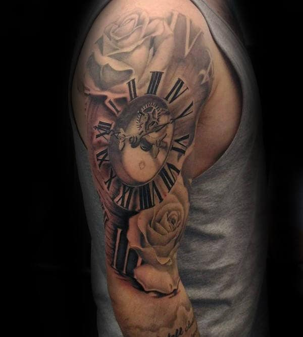 100 Roman Numeral Tattoos For Men Manly Numerical Ink Ideas Ideas And Designs
