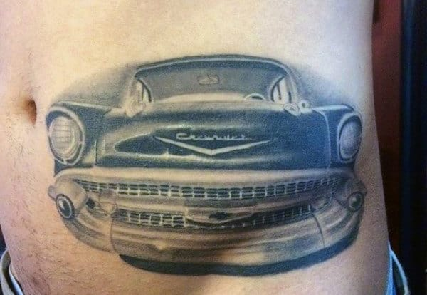 70 Car Tattoos For Men Cool Automotive Design Ideas Ideas And Designs