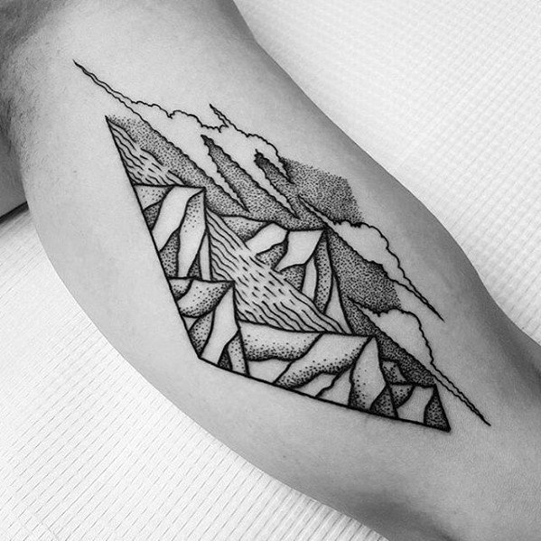 50 River Tattoos For Men Flowing Water Ink Ideas Ideas And Designs