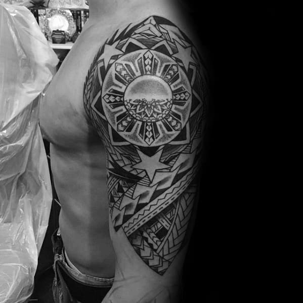 70 Filipino Tribal Tattoo Designs For Men Sacred Ink Ideas Ideas And Designs