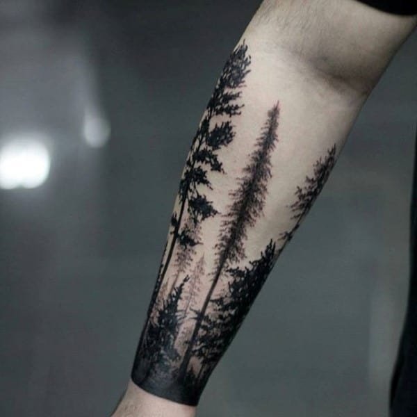 60 Forearm Tree Tattoo Designs For Men Forest Ink Ideas Ideas And Designs
