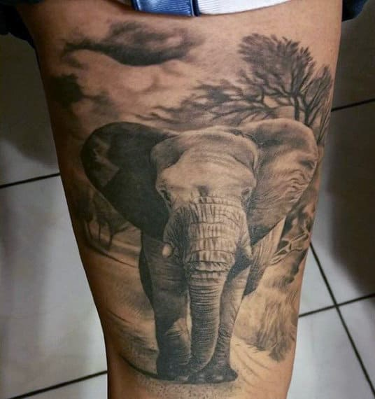 100 Elephant Tattoo Designs For Men Think Big Ideas And Designs