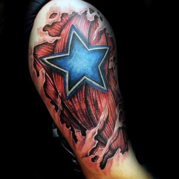 40 3D Star Tattoo Designs For Men Cool Ink Ideas Ideas And Designs