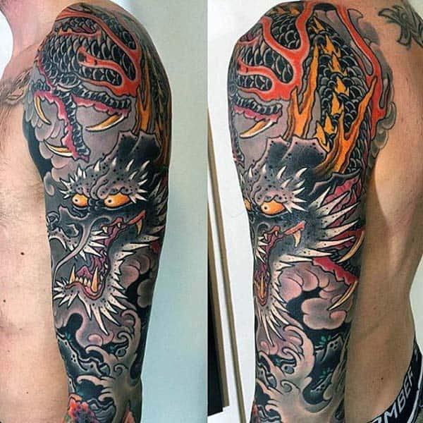 90 Japanese Dragon Tattoo Designs For Men Manly Ink Ideas Ideas And Designs