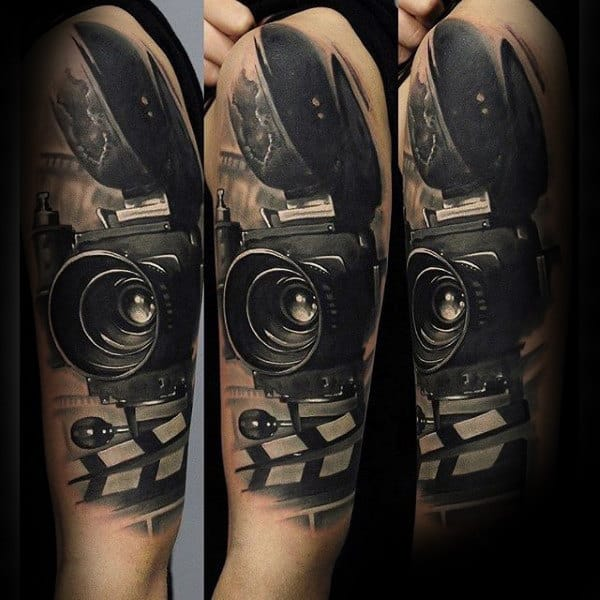 80 Camera Tattoo Designs For Men Photography Ink Ideas Ideas And Designs