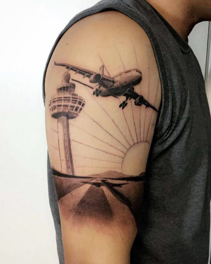 50 Inspiring Travel Tattoos For Travel Addicts Pinay Nomad Ideas And Designs