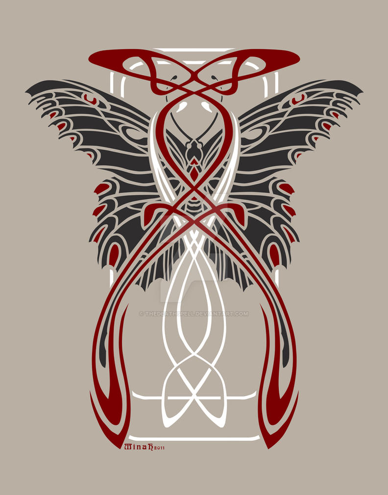 Nouveau Butterfly Design By Thedeathspell On Deviantart Ideas And Designs