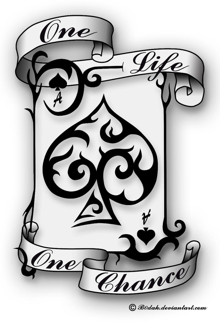 Ace Of Spades Tattoo Design By B0Dah On Deviantart Ideas And Designs