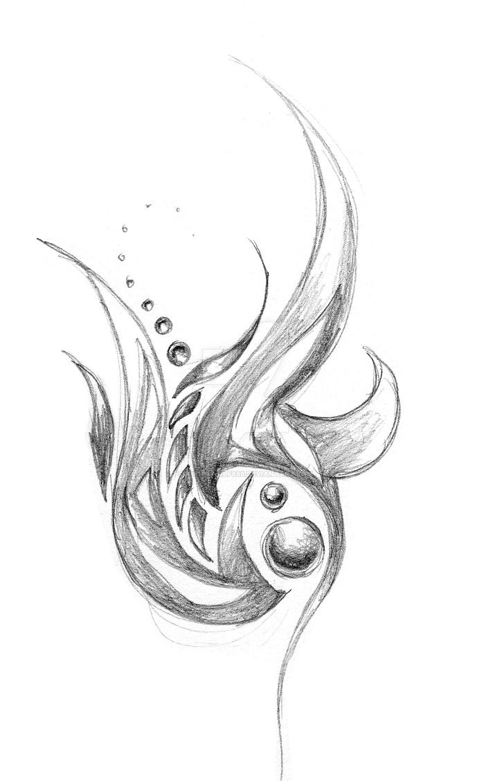 Abstract Tattoo Design 2 By Aureawolf666 On Deviantart Ideas And Designs