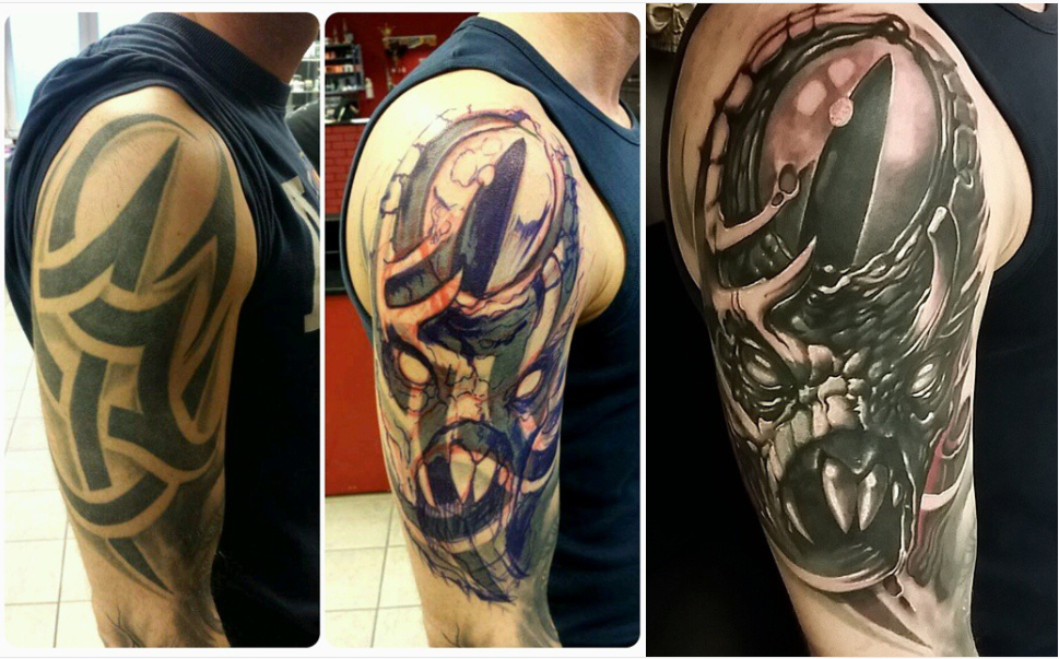 Cover Up Tattoos By Toxyc Ideas And Designs