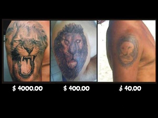 Badass Lion Tattoos And Their Prices Funpicc Ideas And Designs