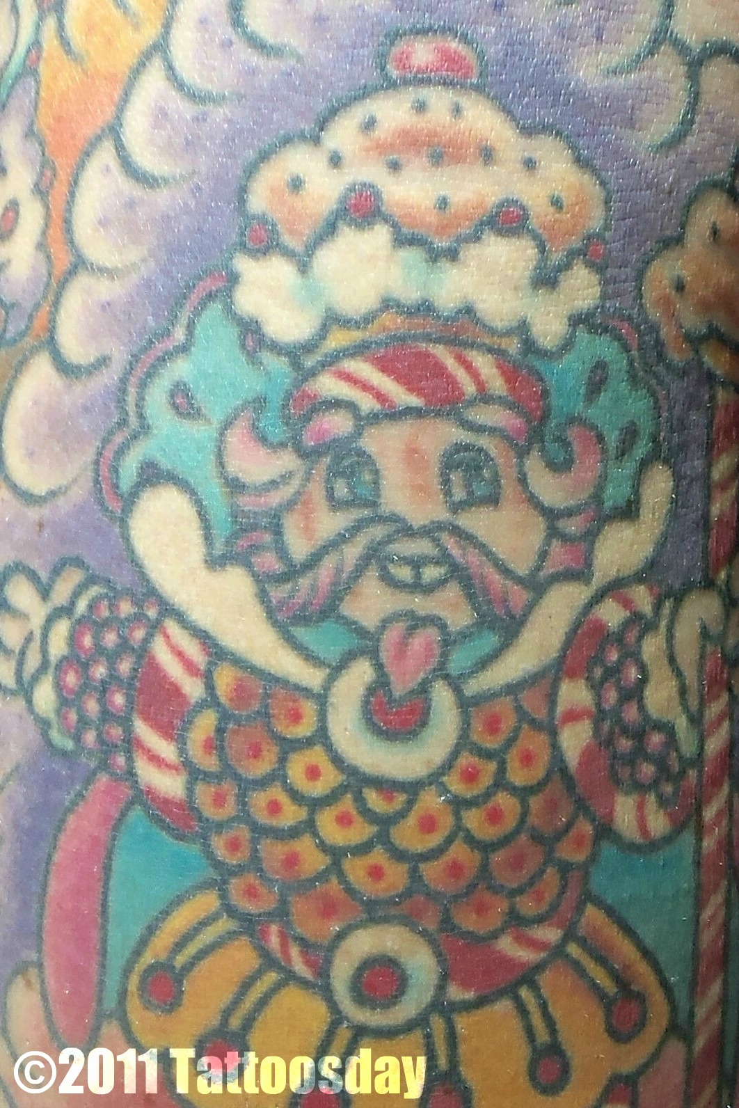 Tattoosday A Tattoo Blog Nicole Takes Us To Candyland Ideas And Designs