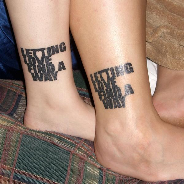25 Love Tattoos For Couples Ideas And Designs