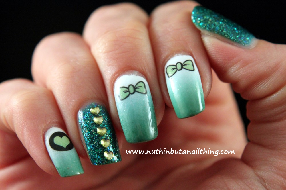 Nuthin But A Nail Thing — Fake Tattoo Review Nail Tattoos Ideas And Designs