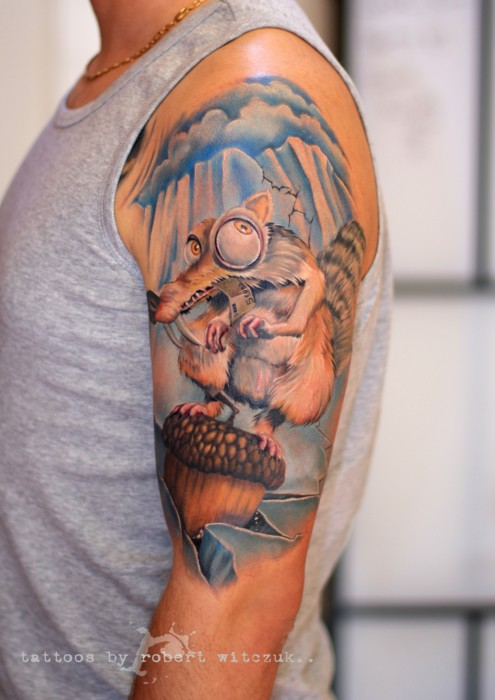 Ice Age Robert Witczuk Tattoos Ideas And Designs