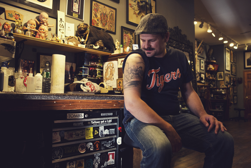Three Kings Tattoo Was This Detroit Native's Gateway To Ideas And Designs