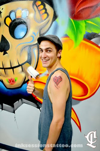 Ink Sessions Tattoo Kendall Schmidt Of Big Time Rush Ideas And Designs
