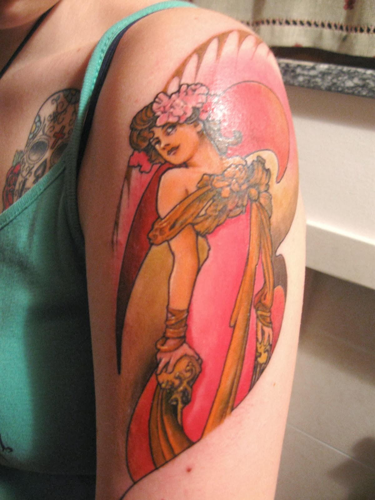 Tattooz Designs Art Nouveau Tattoos For Women Art Ideas And Designs