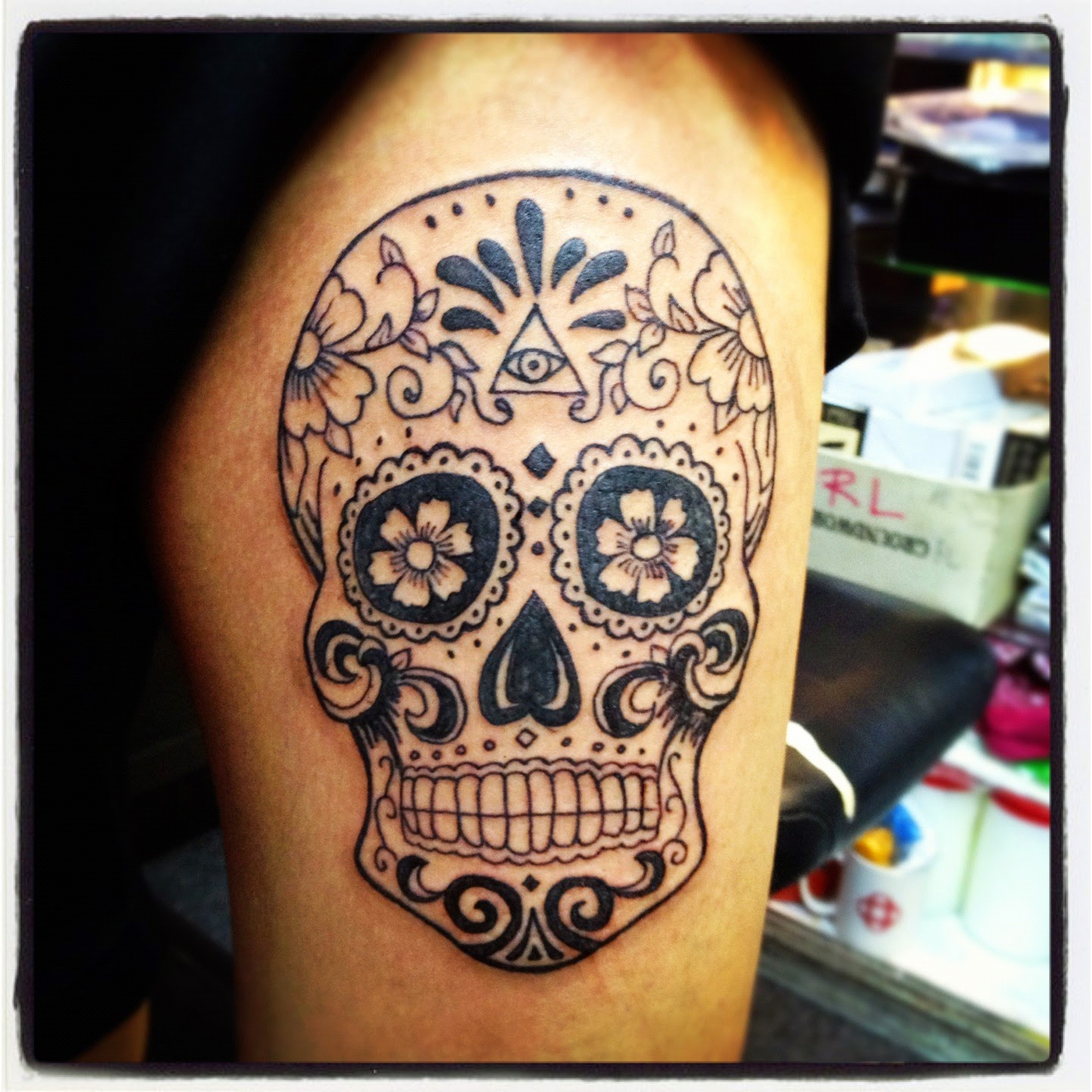 The Tattoo World Most Popular Skull Tattoos Among World Ideas And Designs