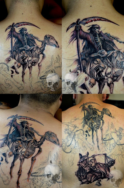 The Four Horsemen Of Apocalypse Tattoo Gallery Ideas And Designs