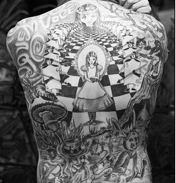 Curiouser In Wonderland Alice S Tattoos Ideas And Designs
