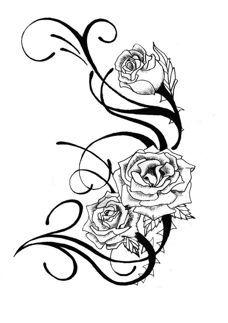 Heart And Rose Drawings In Pencil Free Download Best Ideas And Designs