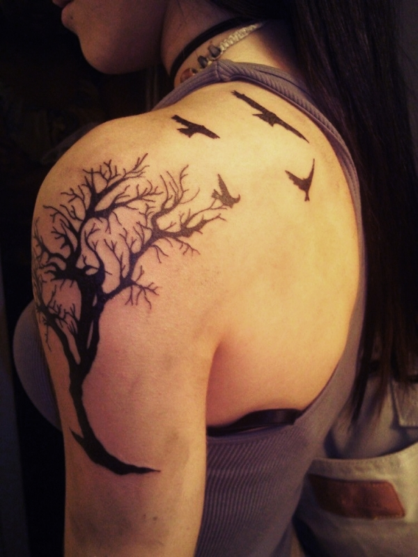 15 Awesome Tree Of Life Tattoo Designs Slodive Ideas And Designs