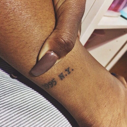 Justine Skye 1995 N Y Ankle Tattoo Steal Her Style Ideas And Designs